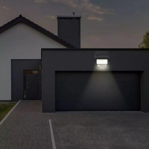led solar floodlights