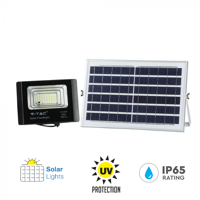 12W solar panel floodlight, UV protection floodlight 12W