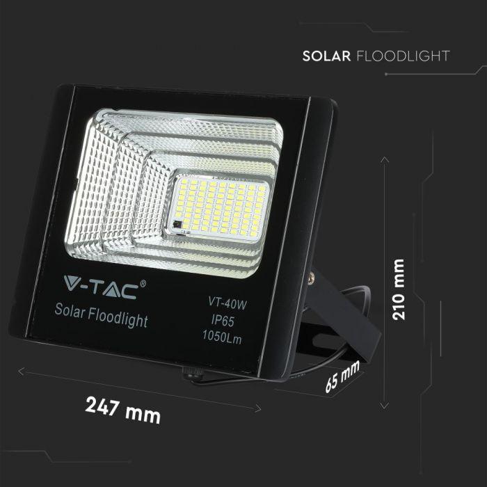 UV protection floodlight, V-Tac VT-40W16W