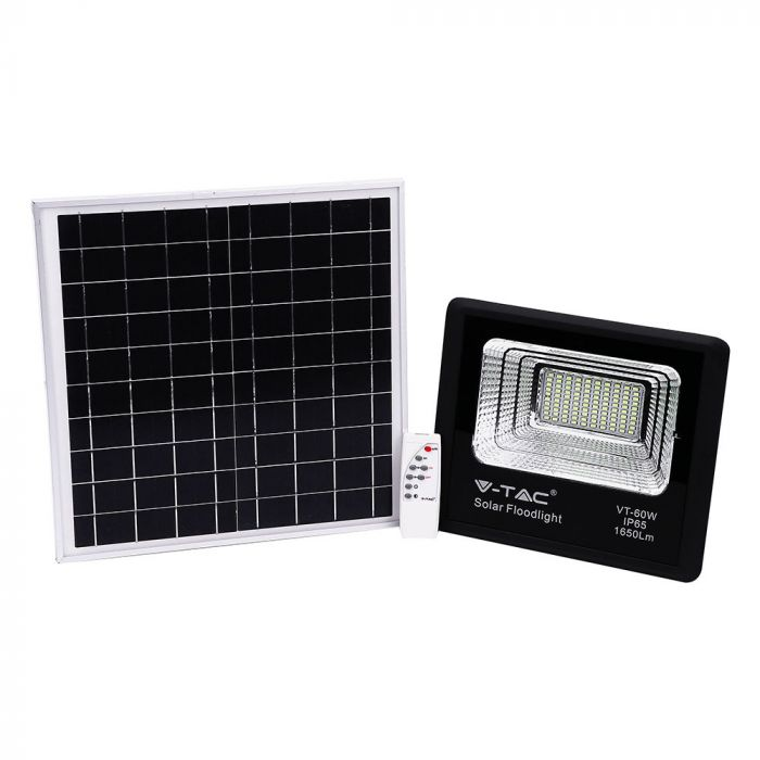 solar floodlight remote controlled