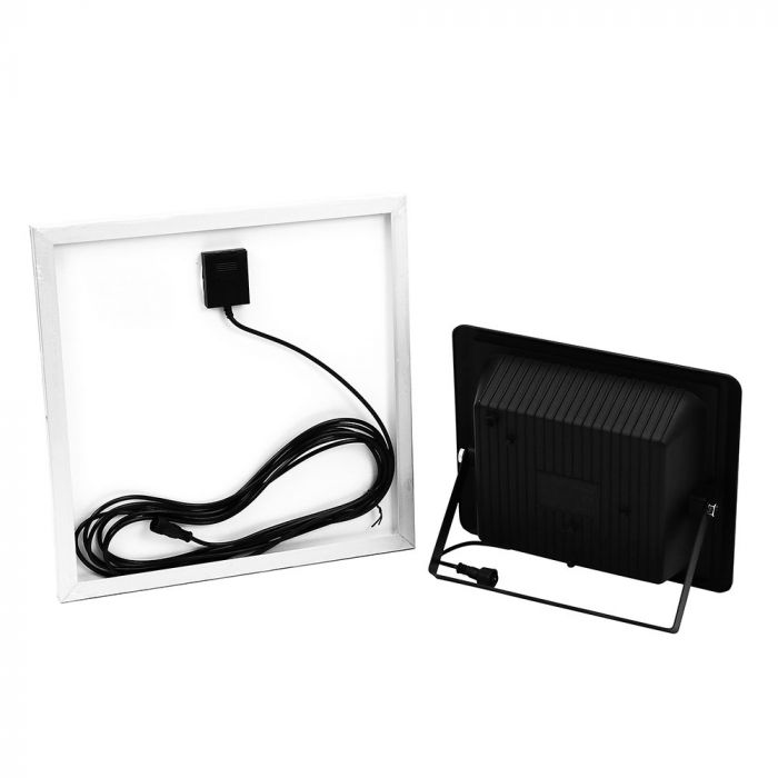 20W Solar Panel LED Floodlight with Remote Control and 5 Meter Wire