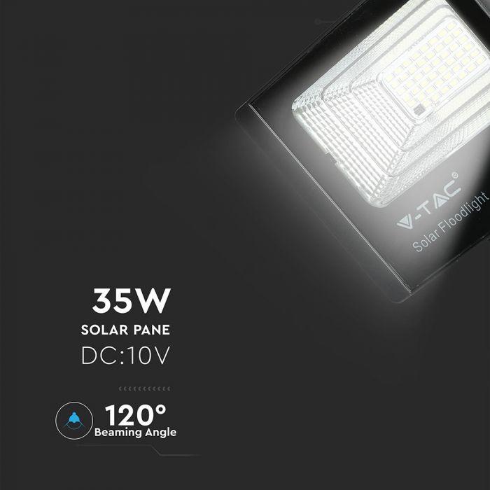 35W solar powered floodlight