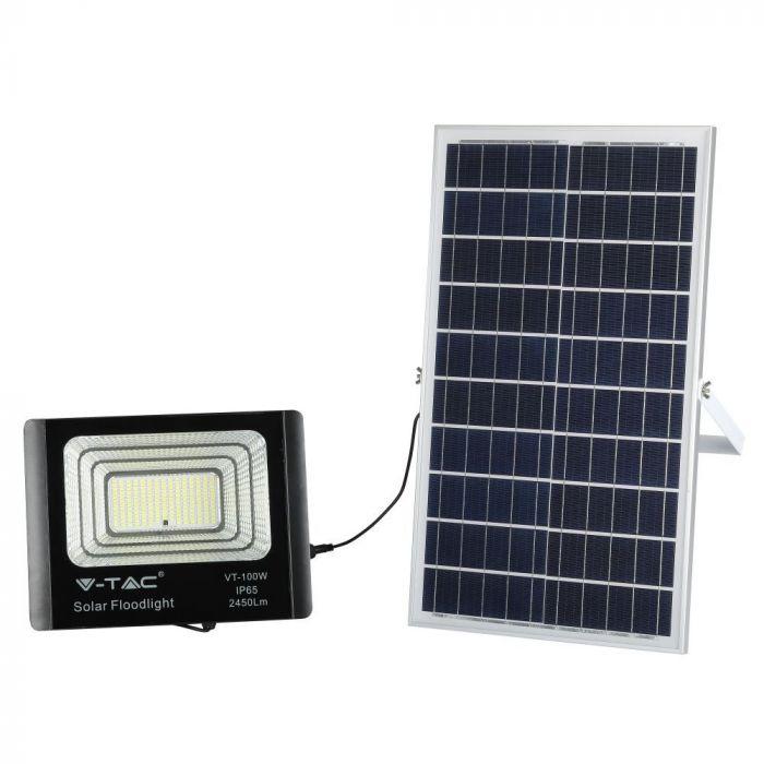 solar panel floodlight