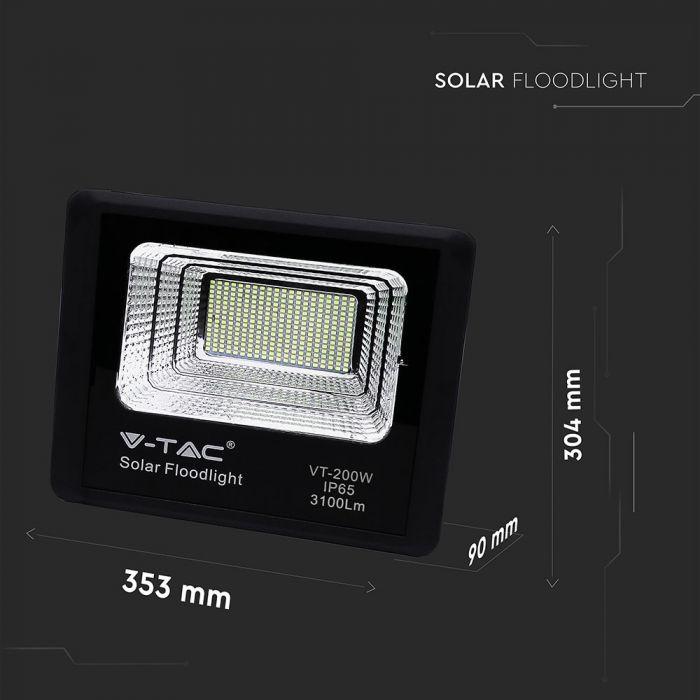 40W solar powered floodlight