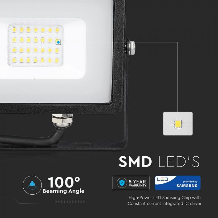 20w slimline LED floodlight