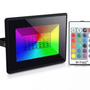 remote control floodlight RGB