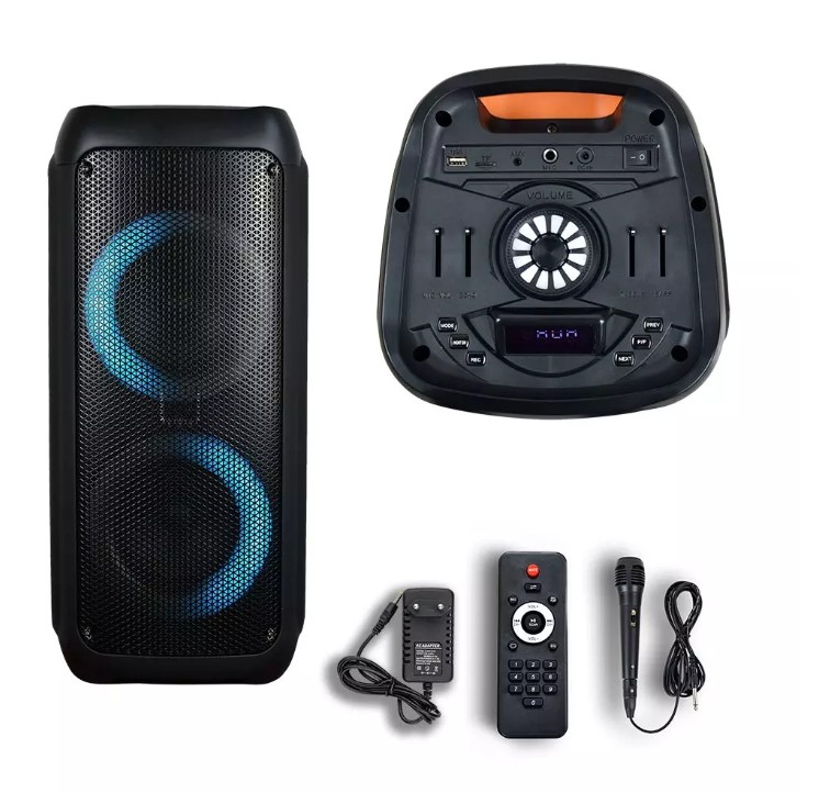 35W Rechargeable Speaker TWS Function Wired Microphone-RF
