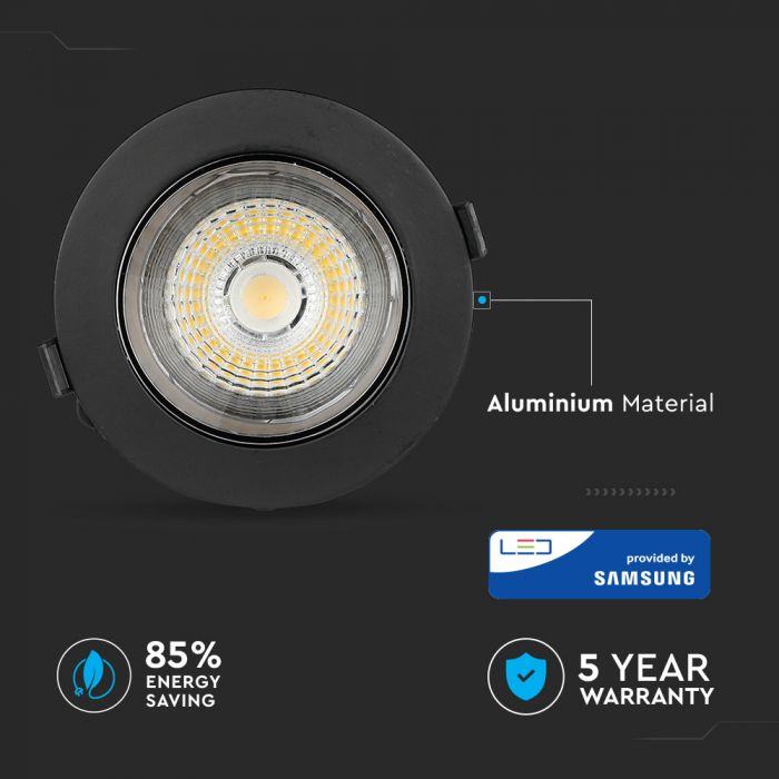 10W LED Reflector COB Downlight