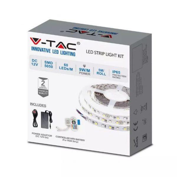 9W LED Strip Kit 60 LED's IP65 12V - 5m Reel