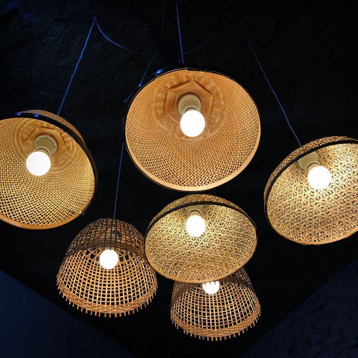6.5W LED Thermoplastic Bulb A60 - 160 Lm/W
