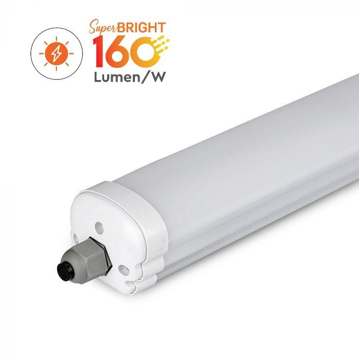 24W LED Waterproof Fitting 160 Lm/W - 120CM IP65