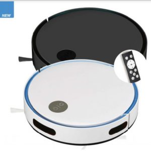 Robotic Vacuum Cleaner with Remote Control