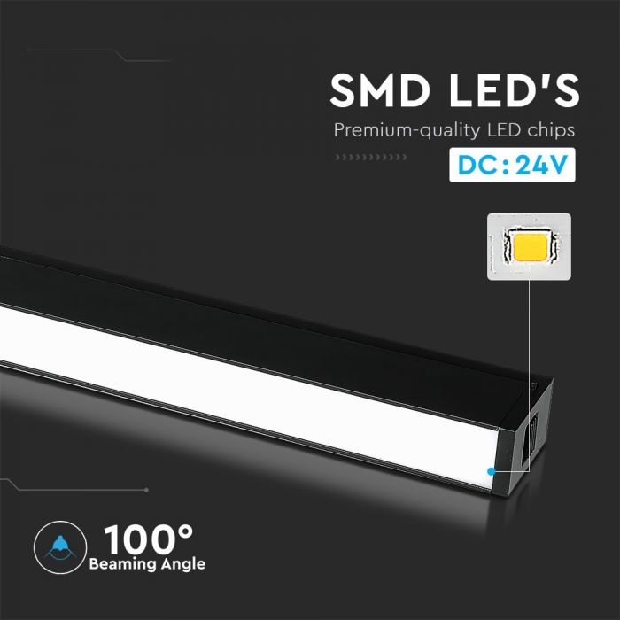 20W LED Magnetic SMD Linear Light IP20 24V