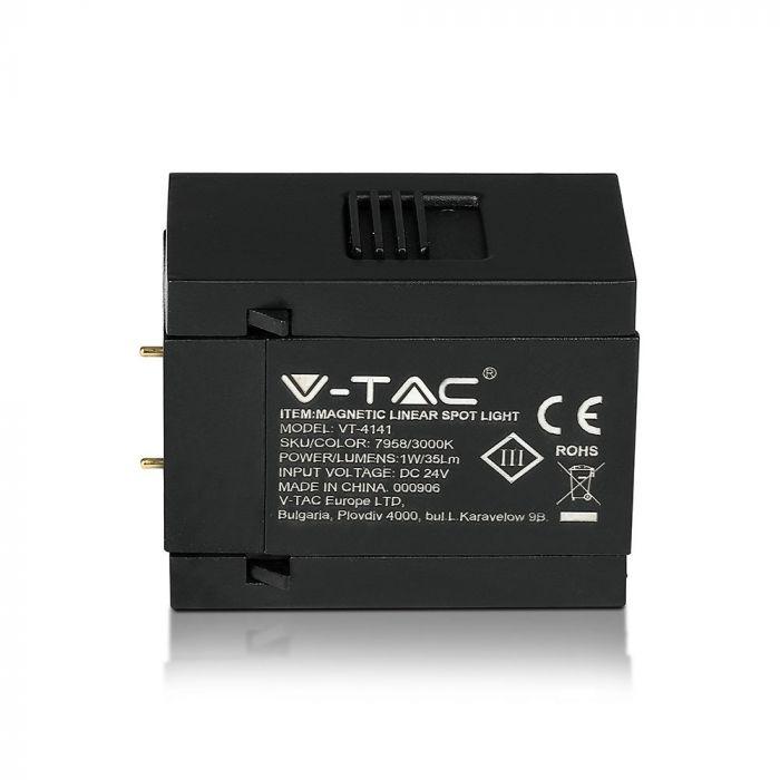 1W LED Magnetic SMD Linear Spotlight IP20 24V