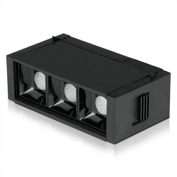 3*1W LED Magnetic SMD Linear Spotlight IP20 24V