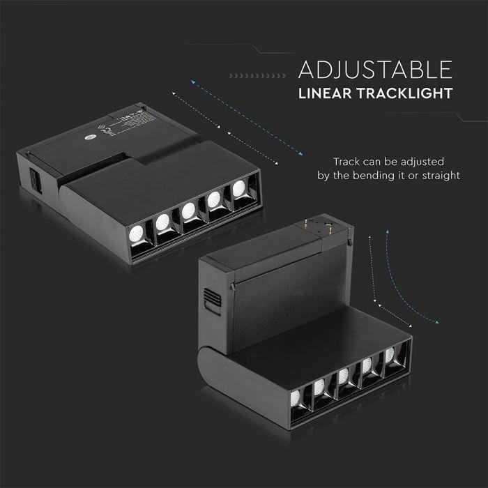 5*2W LED Magnetic SMD Gimbal Spotlight IP20 24V