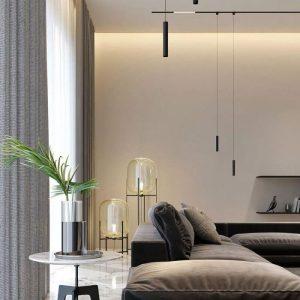 15W LED Magnetic Linear Hanging Suspension Light IP20 24V
