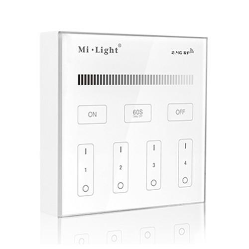4 Zone Panel Remote Controller Single Colour