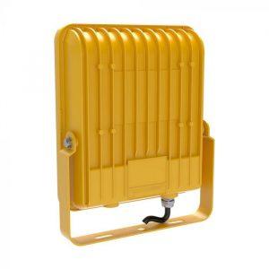 Dual Voltage 50W Samsung LED Floodlight Yellow Body Uk Site Light