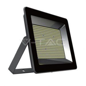 100W Slimline Floodlight Black 6000K