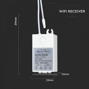 Receiver for Wireless Switch over 500M