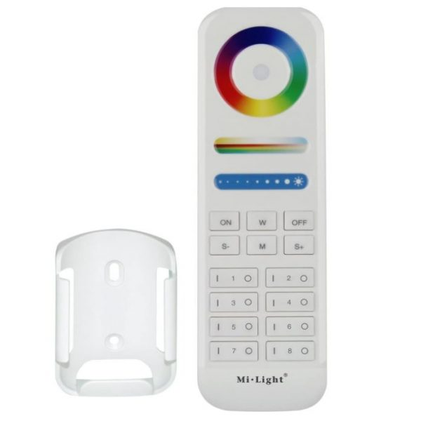 8-Zone RGB+CCT Remote Controller 5in1