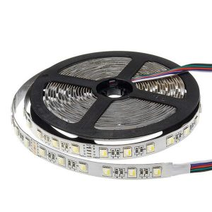 16W LED Strip 24V - RGB+W, RGB+WW IP20