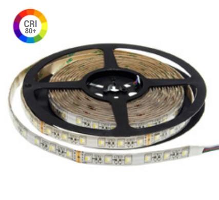 16W LED Strip 12V - RGB+W, RGB+WW IP65