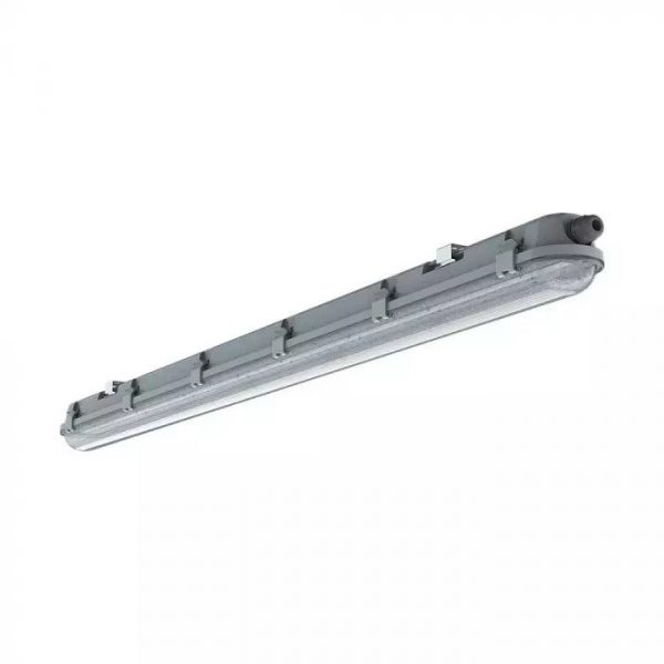 36W LED Waterproof Fitting 4ft /120cm – Transparent Cover – Samsung Chip