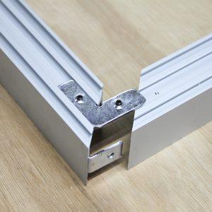 Surface Aluminium Profile Mat Anodize 40*40mm (metre)