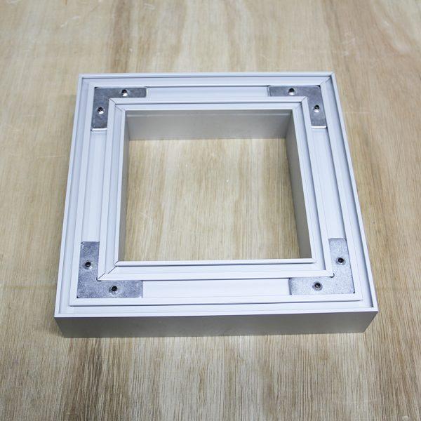 Surface Aluminium Profile 40 x 40mm (metre)