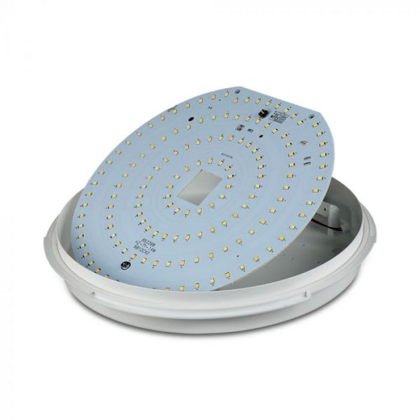 14W LED Dome Light CCT 3in1 with Emergency Battery - Samsung Chip IP65