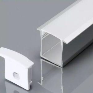 recessed aluminium profile 18mm led strip mounting kit