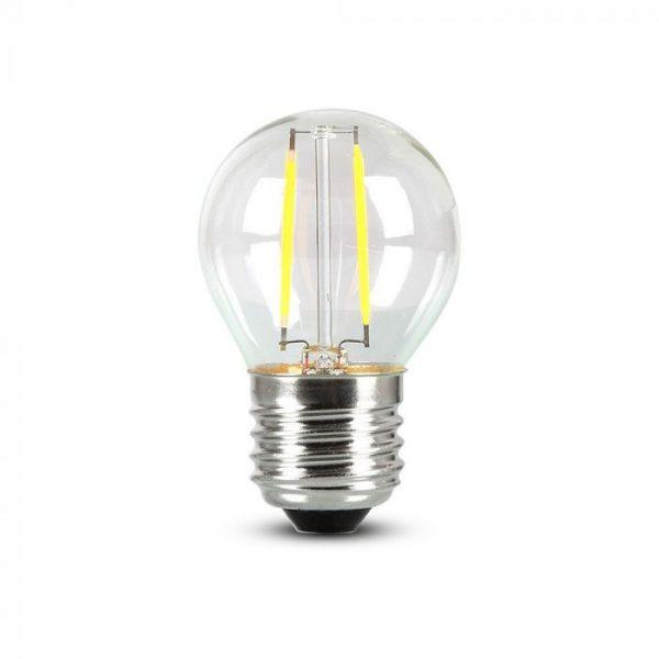 4W G45 Filament Bulb Clear Glass E27