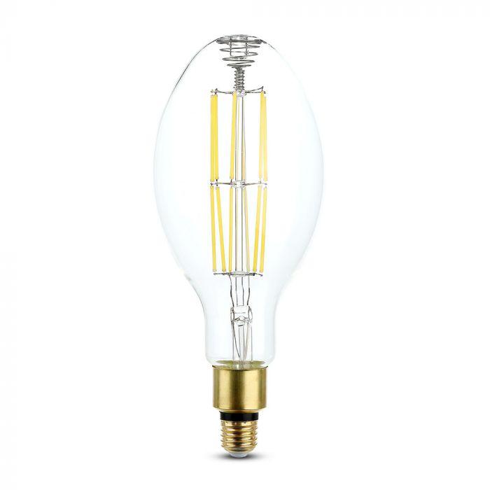 24W LED Filament Bulb ED120 Clear Glass E27 (160Lm/W)