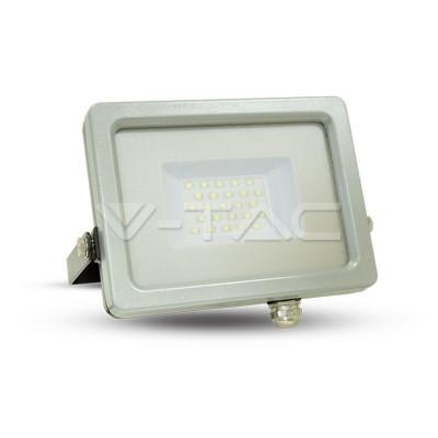 30W LED Floodlight Black Grey Body SMD 6000K
