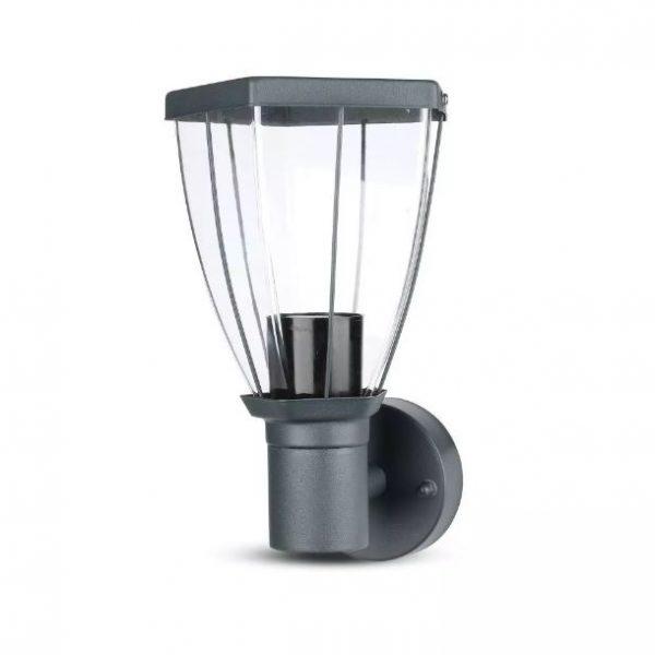 Garden Wall Lamp E27 Max 40W Dark Grey (Up Lighting)
