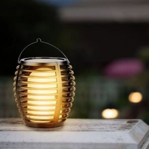 Solar Wall Light Flame 0.45W 4 Installation Types