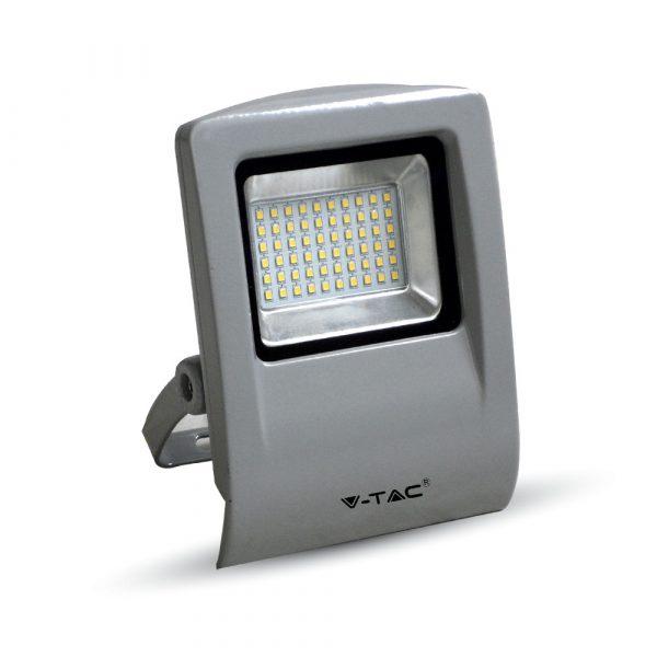 30W LED Floodlight Grey Body SMD 6000K