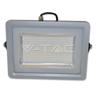 30W LED Floodlight Black Grey Body SMD 3000K