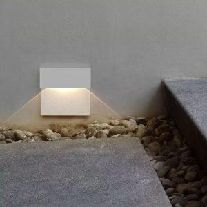 3W Led Step Light Square IP65