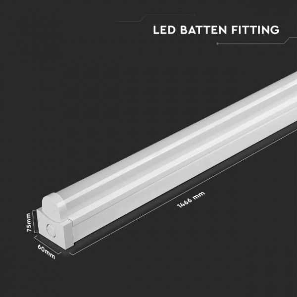 28W LED Batten Fitting 5Ft 150cm with Samsung Chip 5 Years Warranty