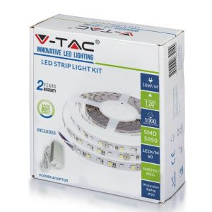LED Strip KIT 60LEDs 5m Reel with Power Supply