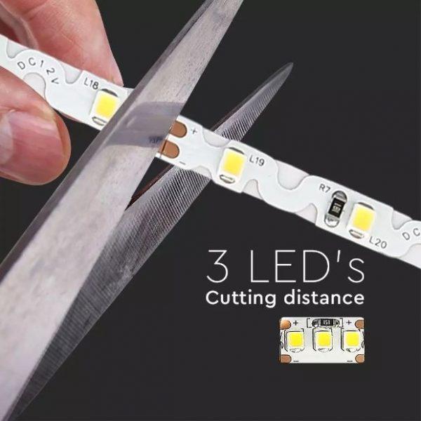 4W LED Strip Lights S-shape IP20 12V 5 Meter
