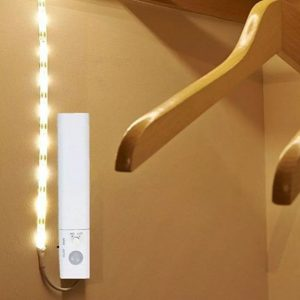 2.4W LED Strip KIT with Sensor IP65 1 Meter (4xAAA Battery)