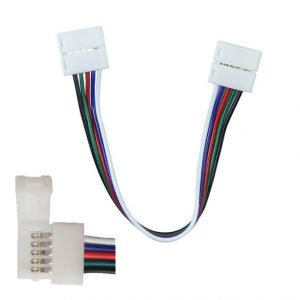 Flexible Connector for 5050 RGB+White Led Strip