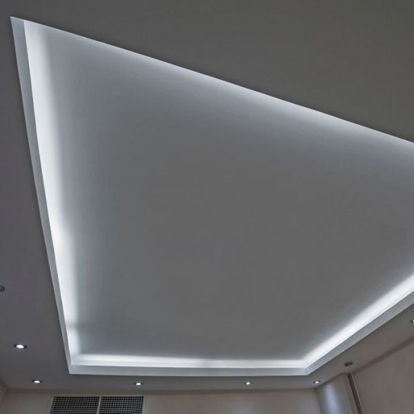 10.8W LED Strip 60 LED's IP20 12V 5m Reel SMD5050 3M Tape