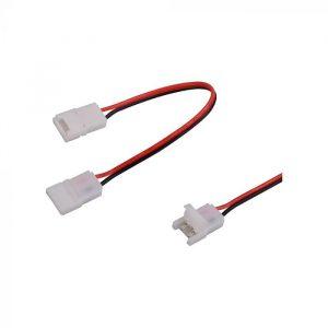 Led Strip Light Connector 10mm Dual Head