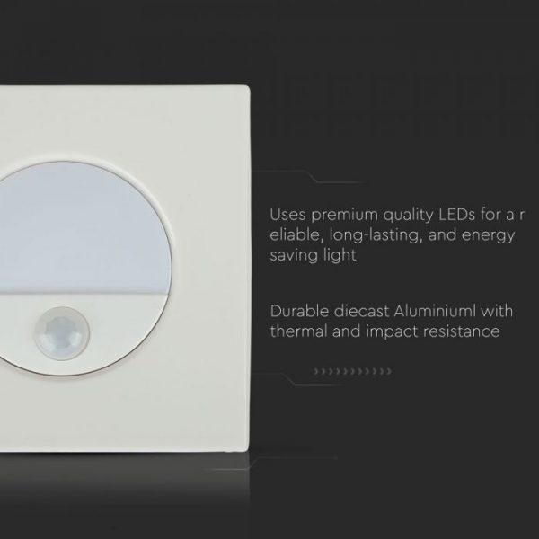 3W LED Step Light with Sensor