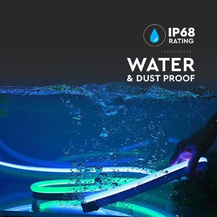 6.5W/m Neon Flex IP68 24V 10m roll